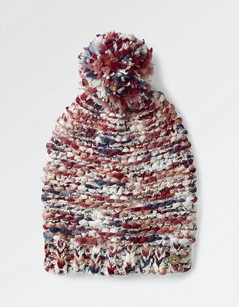 Multi Chunky Knit Beanie