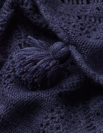 Crochet Tassel Snood