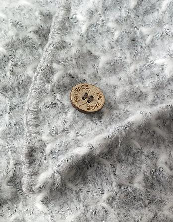 Ruby V-Knit Scarf