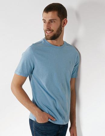 Hawnby Organic Cotton Crew Neck T Shirt