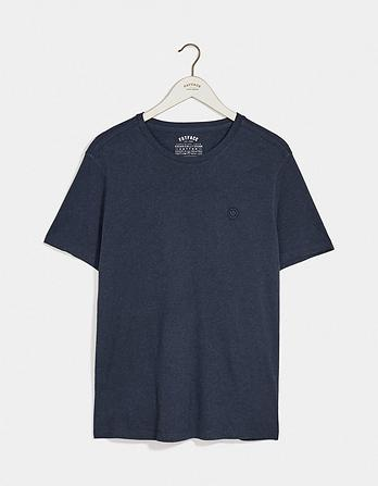 Hawnby Organic Cotton Crew Neck T-Shirt