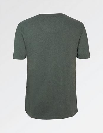 Hawnby Organic Cotton Crew Neck T-Shirt