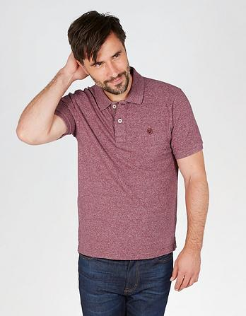 Linton Organic Cotton Grindle Pique Polo