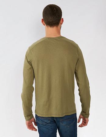 Lowick Hemp Cotton Henley T Shirt