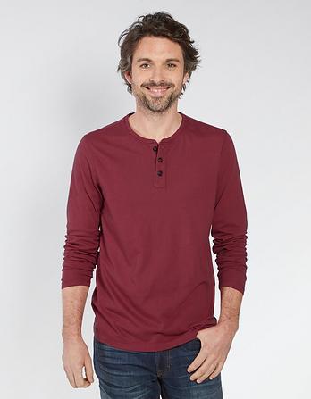 Lowick Hemp Cotton Henley T-Shirt