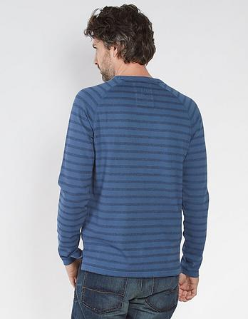 Ambleside Stripe Crew Neck T-Shirt