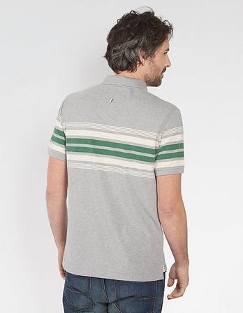 Barden Organic Cotton Stripe Polo
