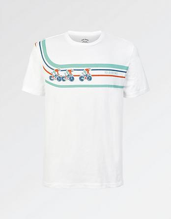 Velodrome Organic Cotton Graphic T-Shirt