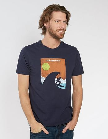 Cold Surf Organic Cotton Graphic T-Shirt