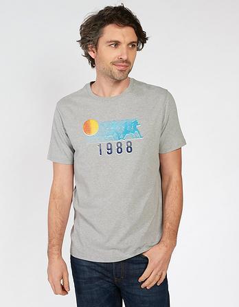 Runners Organic Cotton Graphic T-Shirt