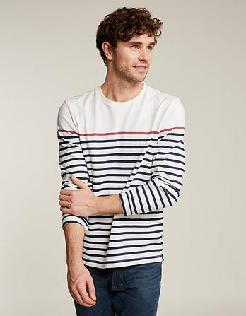 Harlyn Pop Stripe Crew Neck T-Shirt