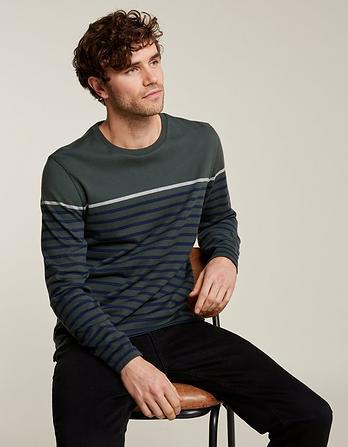 Harlyn Pop Stripe Crew Neck T-Shirt
