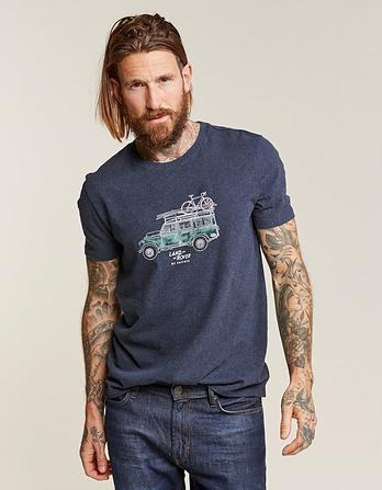 Land Rover Bike Graphic T-Shirt