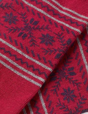 One Pack Fairisle Stripe Socks