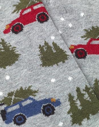 One Pack Christmas Car Socks