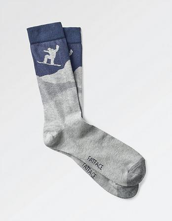 One Pack Snowboarder Socks
