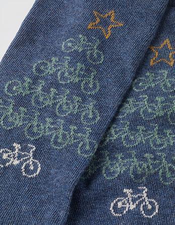 One Pack Bike Tree Socks