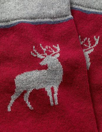 One Pack Stag Socks