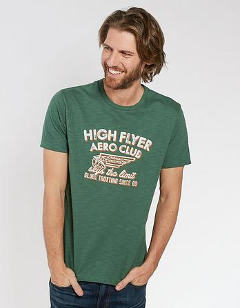 High Flyer Organic Cotton Graphic T-Shirt