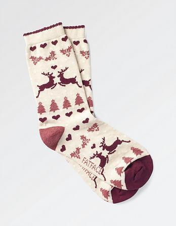 One Pack Fairisle Socks