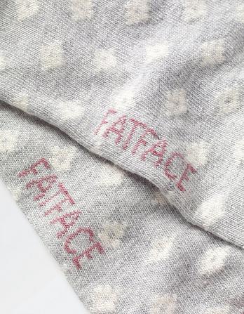 One Pack Pretty Fairisle Socks