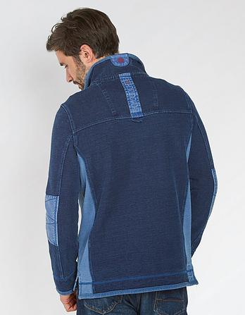 Indigo Airlie Sweat
