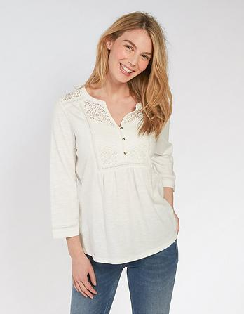 Lucia 3/4 Sleeve Top