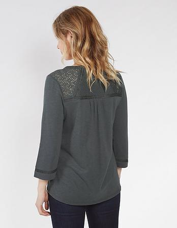 Lucia 3/4 Sleeve Top
