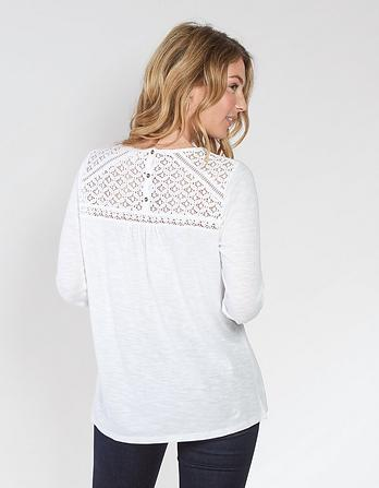 Zandra Lace Top