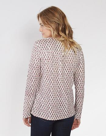 Edolie Country Floral Top
