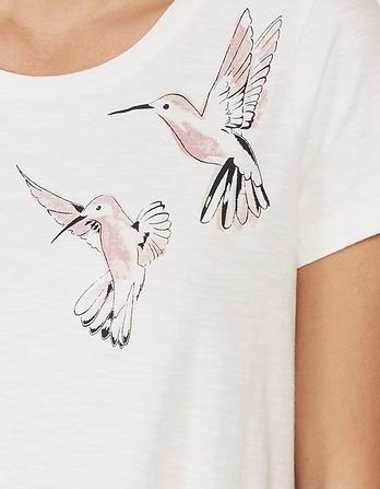 Hummingbird Graphic T-Shirt