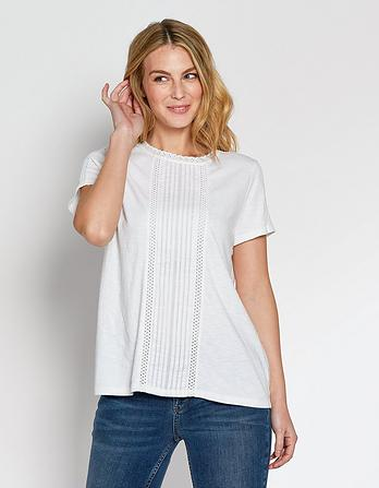 Faith Pleated Top