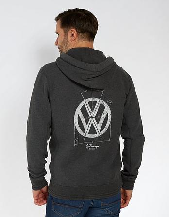 VW Pembroke Marl Zip Thru Hoody