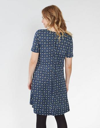 Simone Star Tile Dress