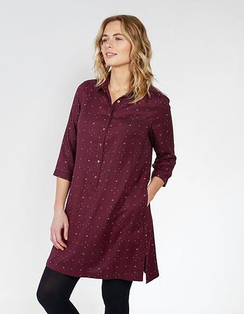 Kelly Daisy Ditsy Shirt Dress