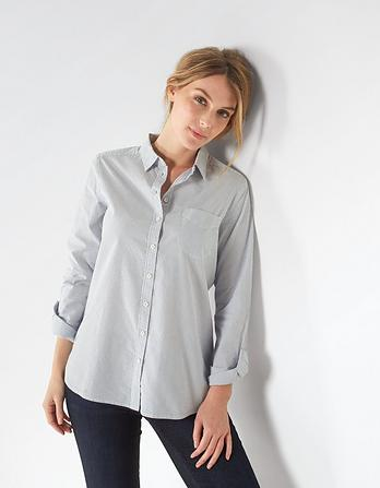 Olivia Chambray Stripe Shirt