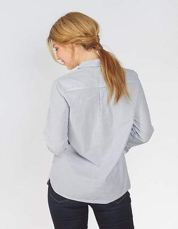Olivia Chambray Stripe Shirt