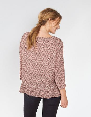 Erin Country Floral Blouse