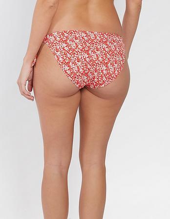 Meadow Floral Tieside Bikini Bottoms