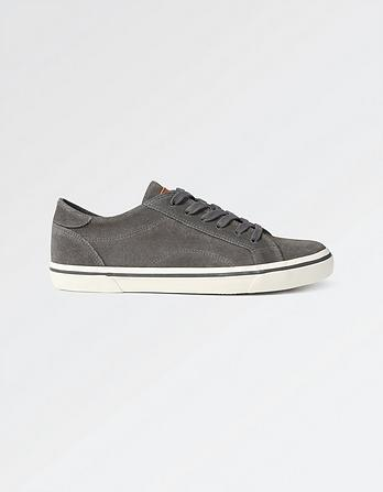 Adbury Suede Lace-Up Trainers
