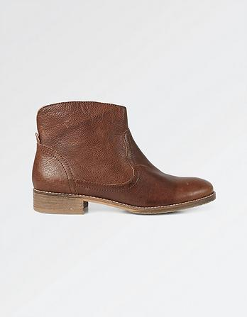 Finkley Leather Ankle Boots