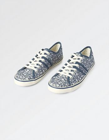 Easton Floral Lace Up Sneakers
