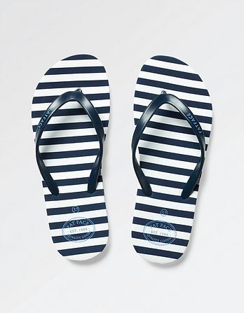 Hope Stripe Flexi Flip Flops
