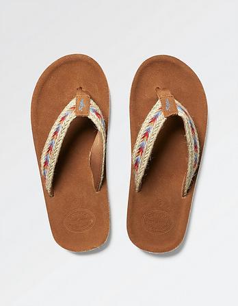 Somerton Suede Flip Flops
