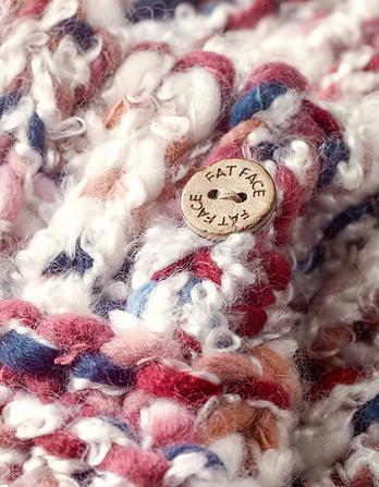 Multi Chunky Knit Mittens
