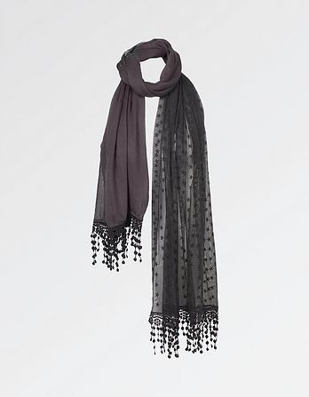 Star Lace Scarf