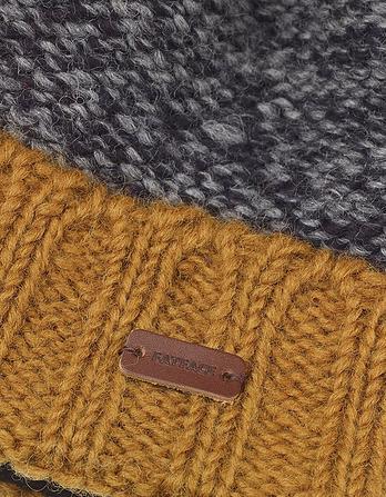 Hand Knit Turn Up Beanie