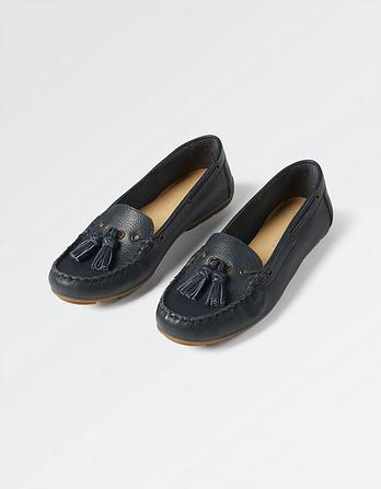 Ailby Tassel Moccasins