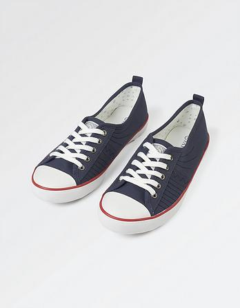 Lacie Low Cut Lace-Up Sneakers