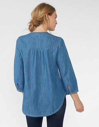 Tilda Notch Neck Popover